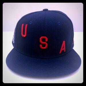 NWOT Nike USA Soccer Flat Bill Snapback Hat OS